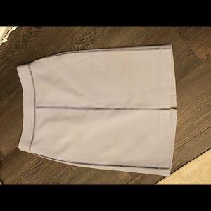 Ann Taylor light blue skirt size 4